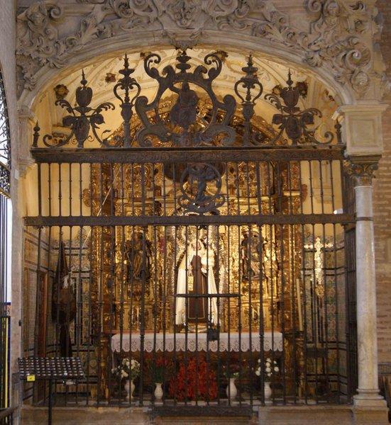 Real Parroquia de Señora Santa Ana - Capilla Ánimas, Virgen del Carmen