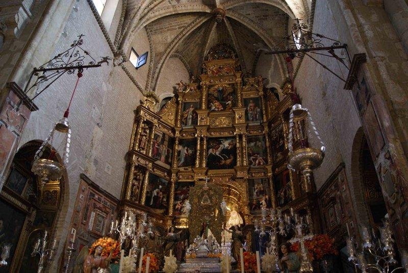 Real Parroquia de Señora Santa Ana - Retablo Mayor
