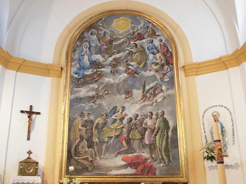 Nerva - Retablo Martirio de San Bartolomé