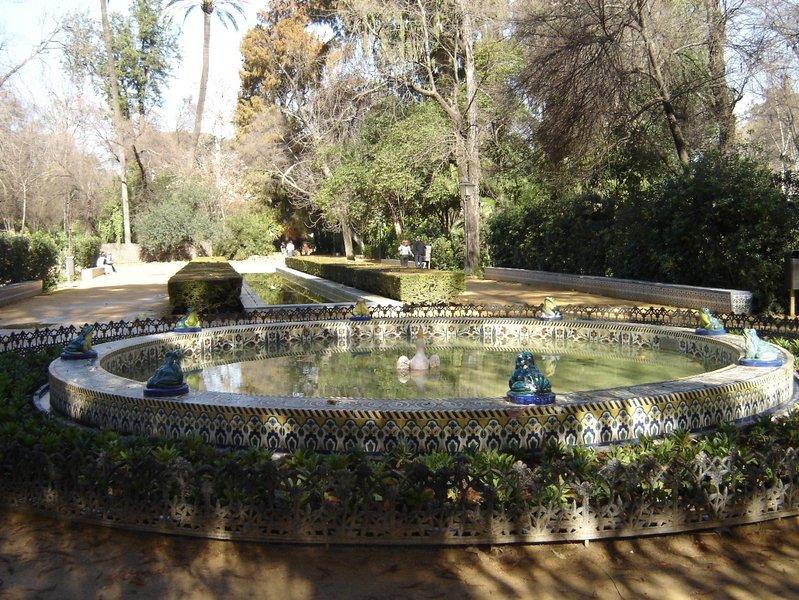 Parque de María Luisa - Fuente de las Ranas