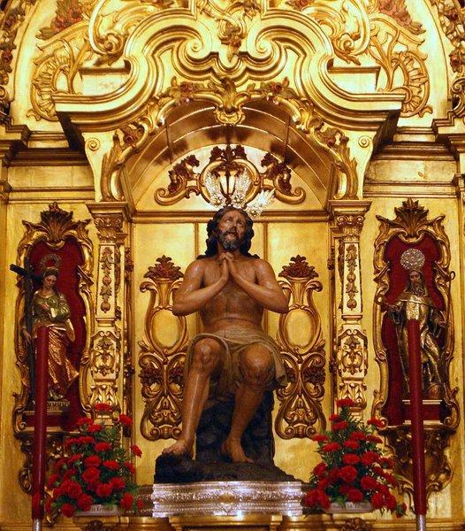 Capilla Virgen de la Estrella - Retablo Cristo de las Penas