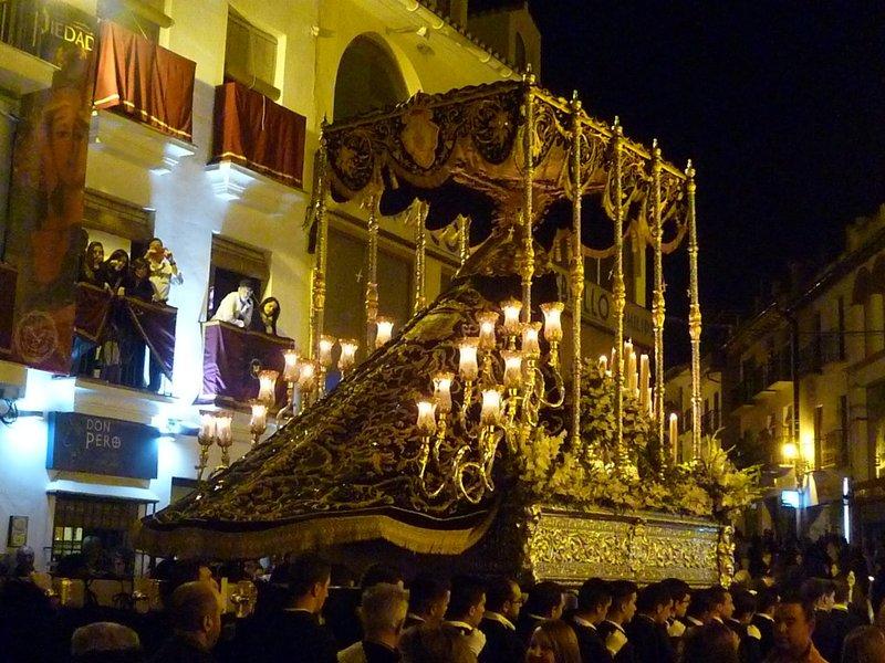 Álora, procesión de Semana Santa