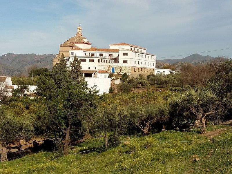 Álora, vista de la ermita de las Flores