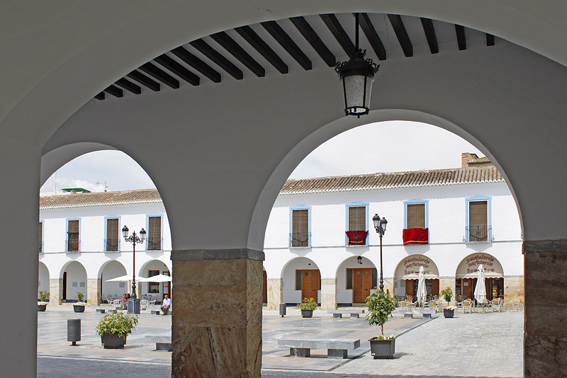Plaza Porticada, arcos