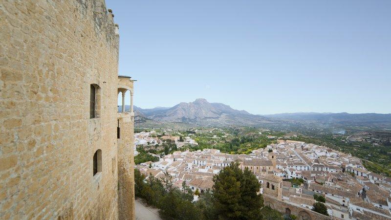 Vistas desde el Castillo de Vélez-Blanco, Almería