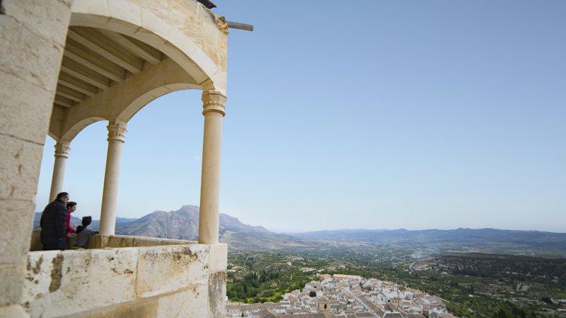 Balcón Castillo de Vélez-Blanco, Almería