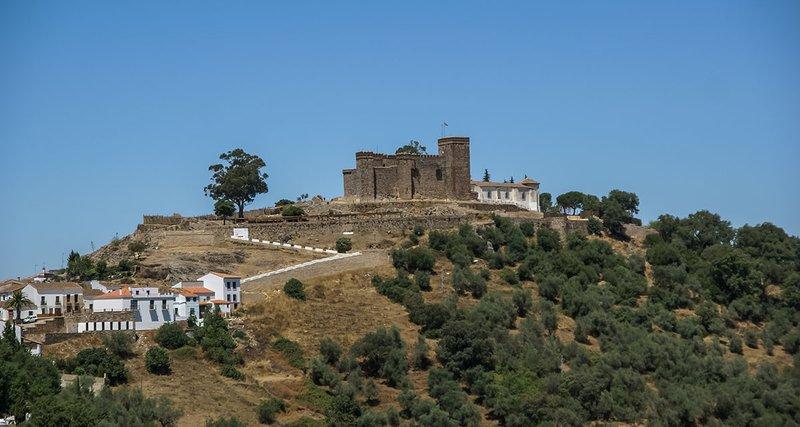 Castillo Medieval, Cortegana, Huelva