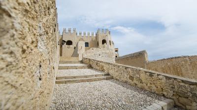 Die Burg von Vélez-Blanco