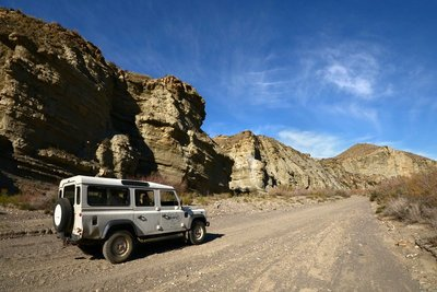 4x4, Hollywood, the Tabernas Desert and....action!