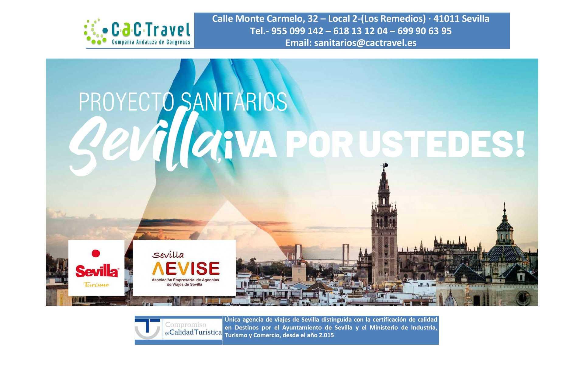 Hamelin: Sevilla ¡Va por ustedes! Oferta especial sanitarios y fuerzas de seguridad - Actividad  (Sevilla)
