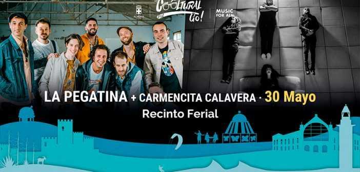 Concierto de La Pegatina y Carmencita Calavera