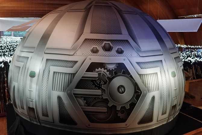 Cine inmersivo 360º y Planetario