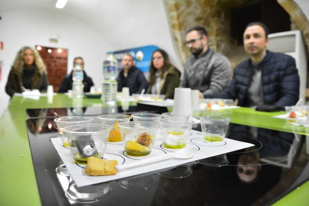EXPERIENCIA AOVE: Visita guiada al Centro de Interpretación Olivar y Aceite con Taller de Cata de Aceites y Maridaje.