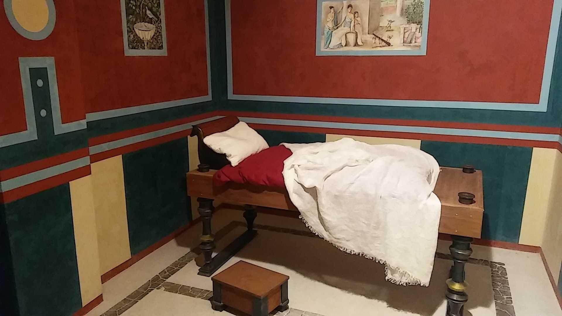 Casa romana: Dormitorio