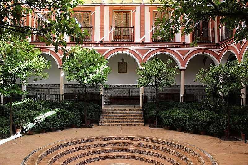 Visita al Hospital de los Venerables de Sevilla