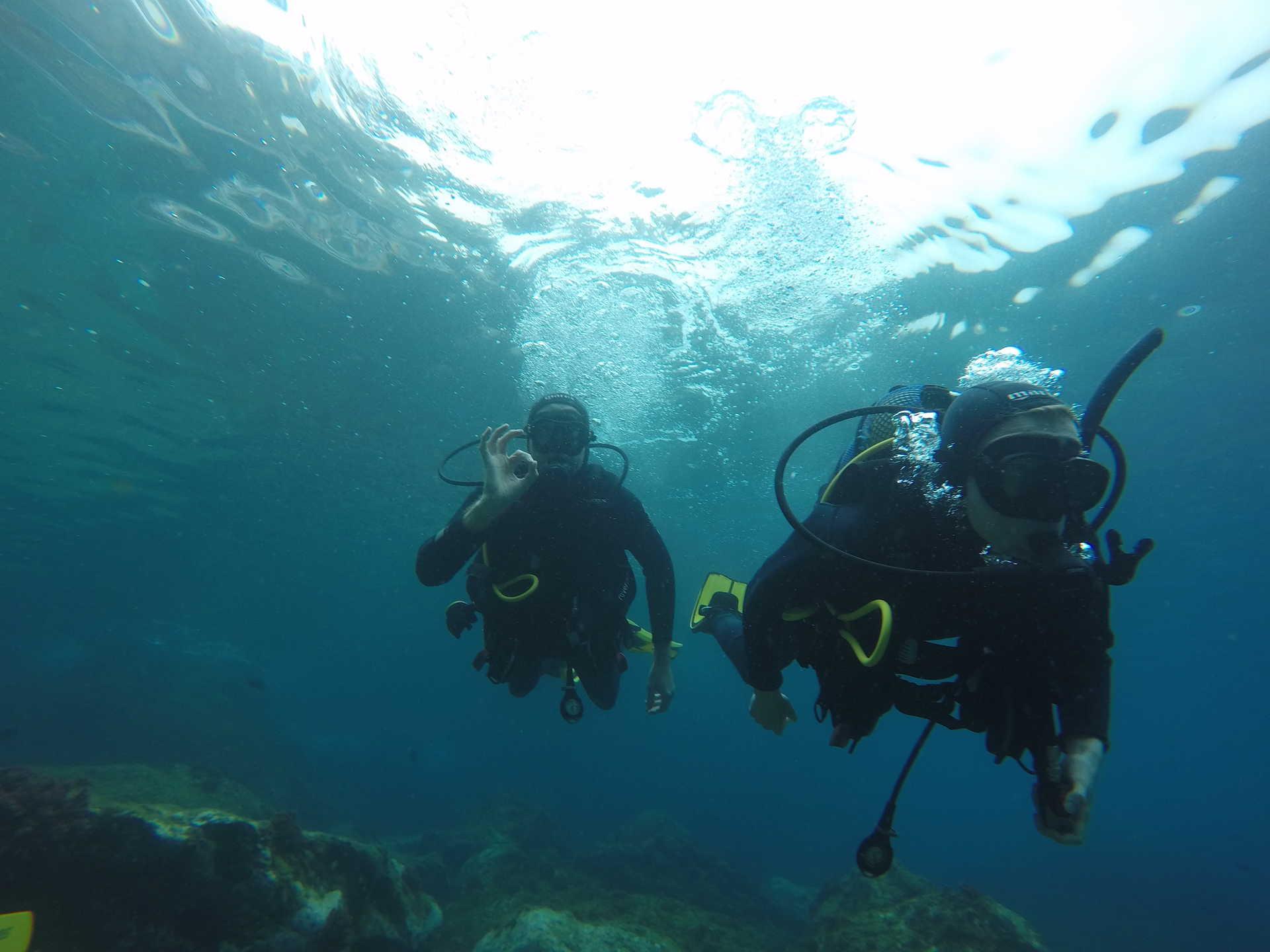 Inmersión de buceo