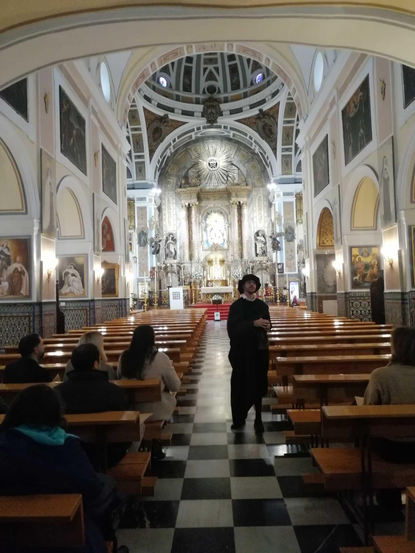 Visita teatralizada al Convento del Santo Ángel. Conventum