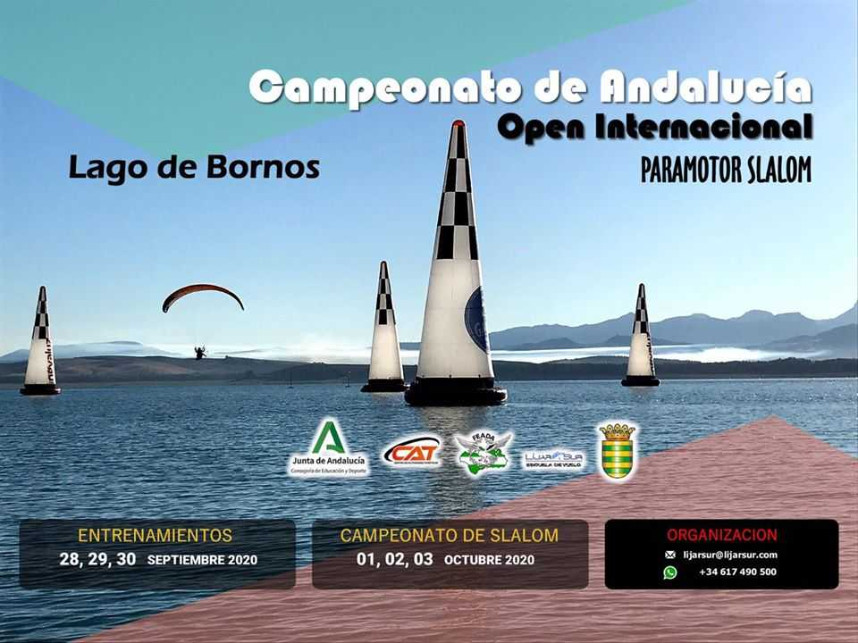 Campeonato de Andalucía de Paramotor Slalom. Open Internacional