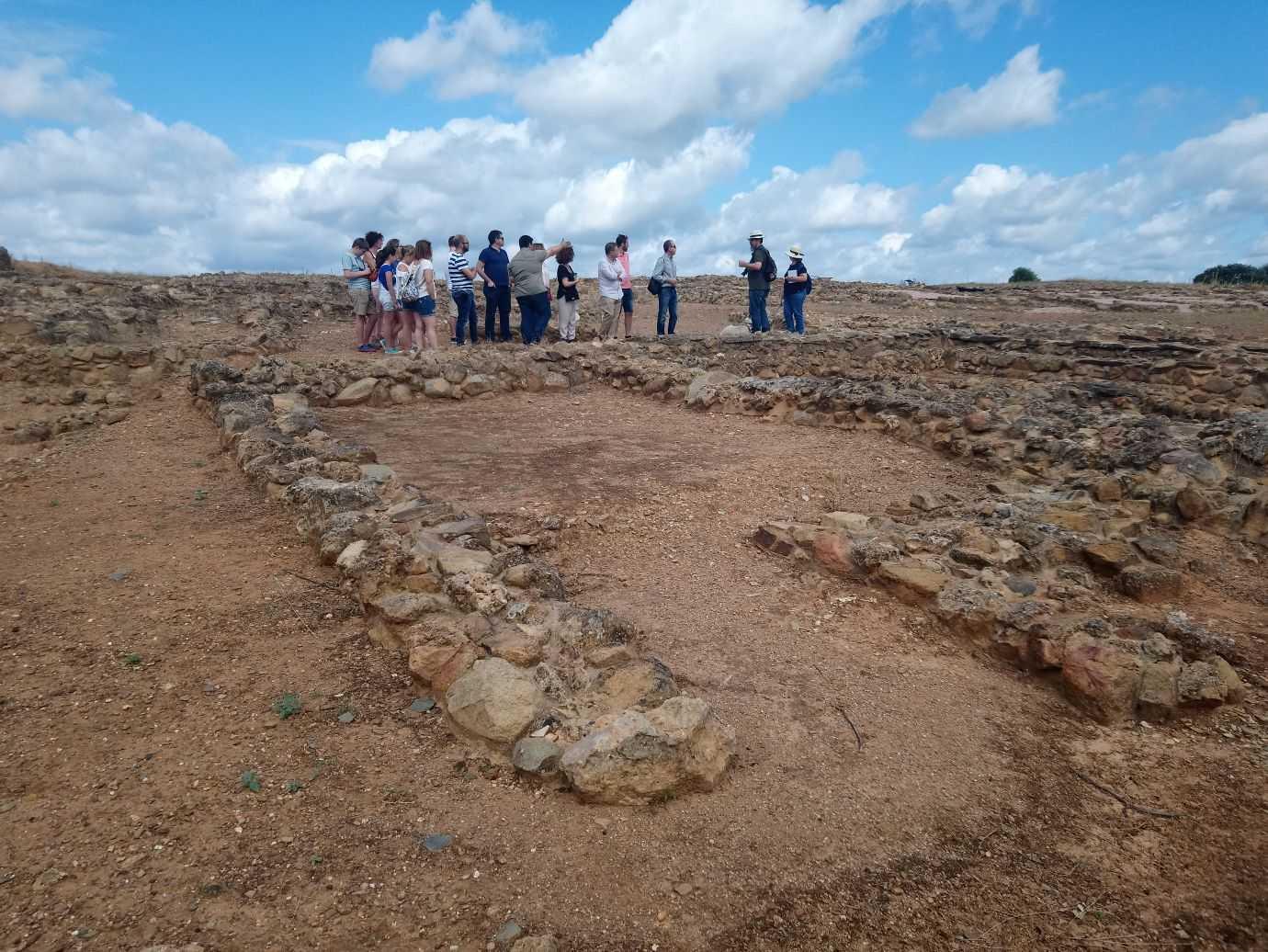 Archäologische Stätte Tejada la Vieja