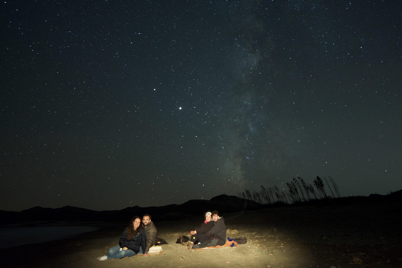 Observación de estrellas a simple vista