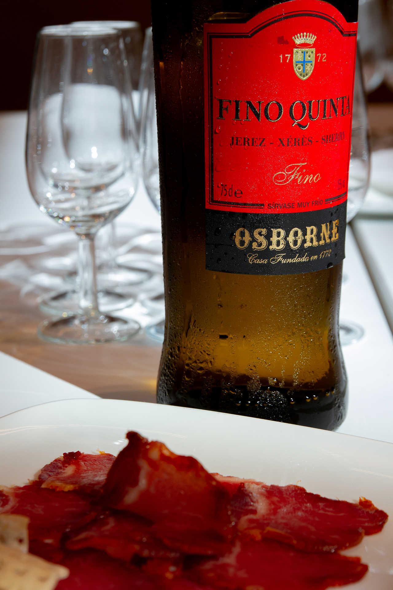 Bodegas Osborne El Puerto de Santa María, visita guiada con degustación de vinos y menú de maridaje en Toro Tapas