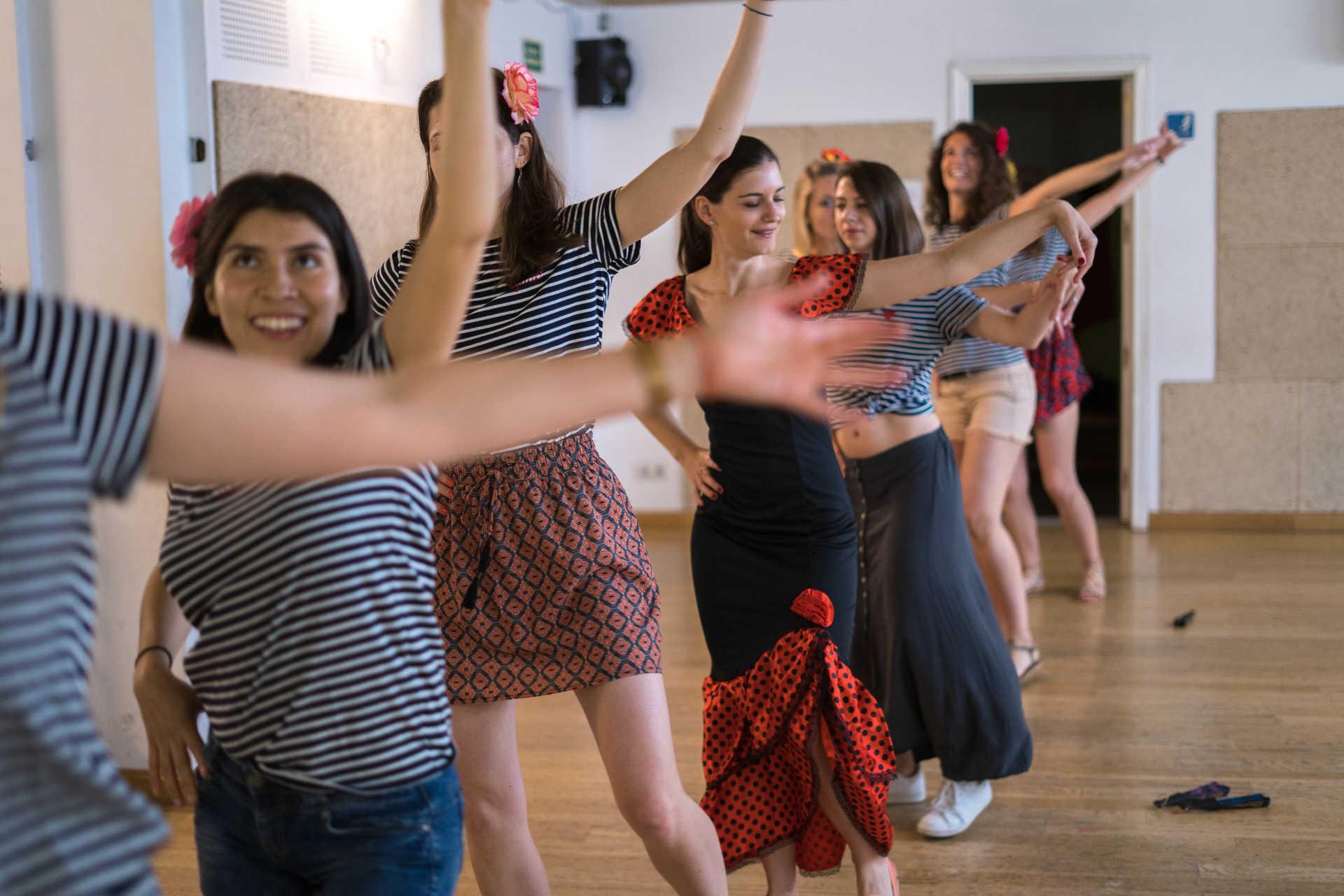 Clases de Flamenco: Primer contacto con el Flamenco