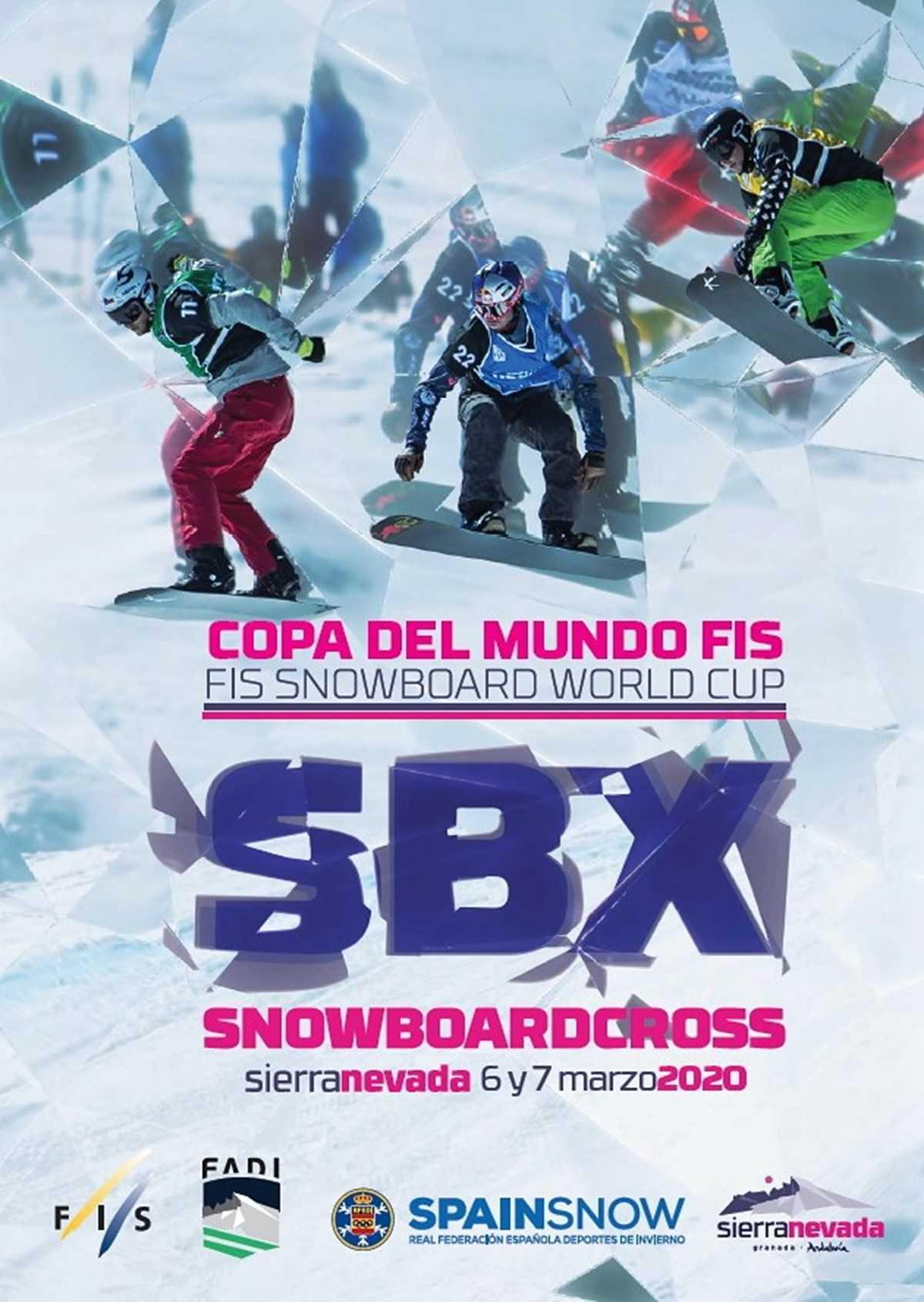©Ayto.Granada: Prueba Campeonato FIS SBX Sierra Nevada 2020