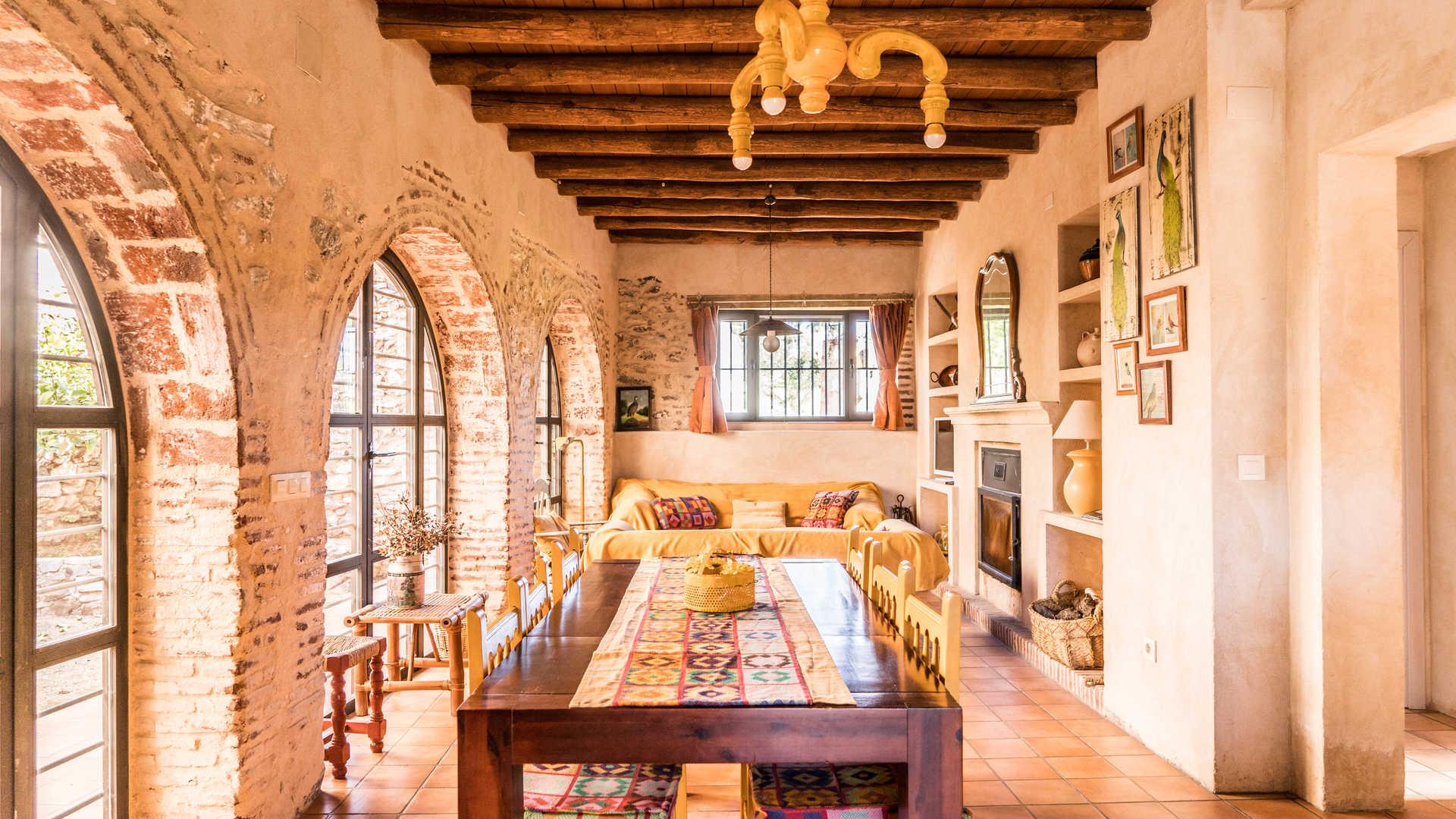 Charming country house lodges in Cazalla de la Sierra