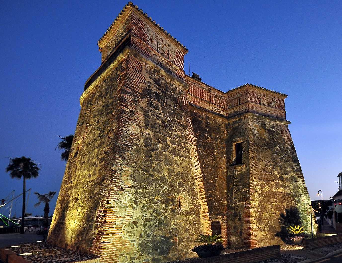 Centro de Interpretación Torres Vigía. Torreón de La Cala de Mijas