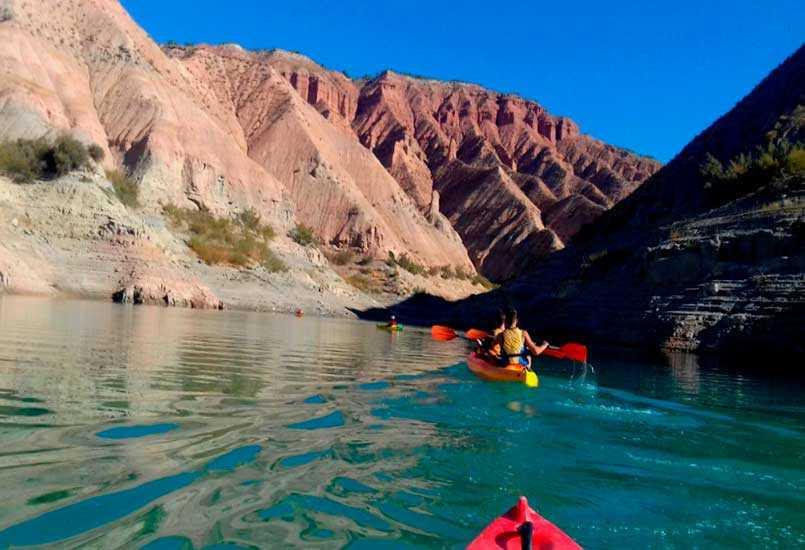 Ruta en Kayak a la isla de las Gaviotas