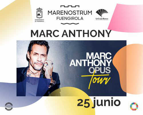 MARC ANTHONY- Marenostrum Fuengirola