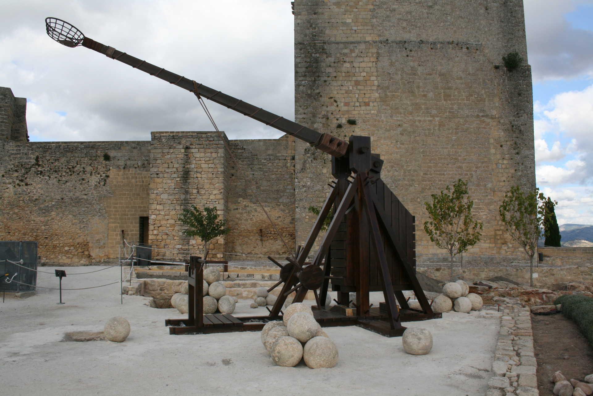 Trabuquete y Alcazaba