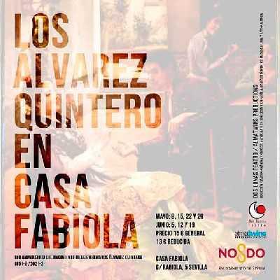 Los Álvarez Quintero en Casa Fabiola