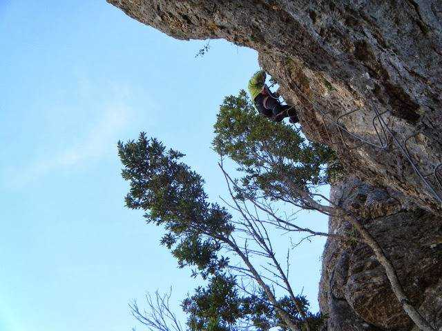 Klettersteig El Hacho