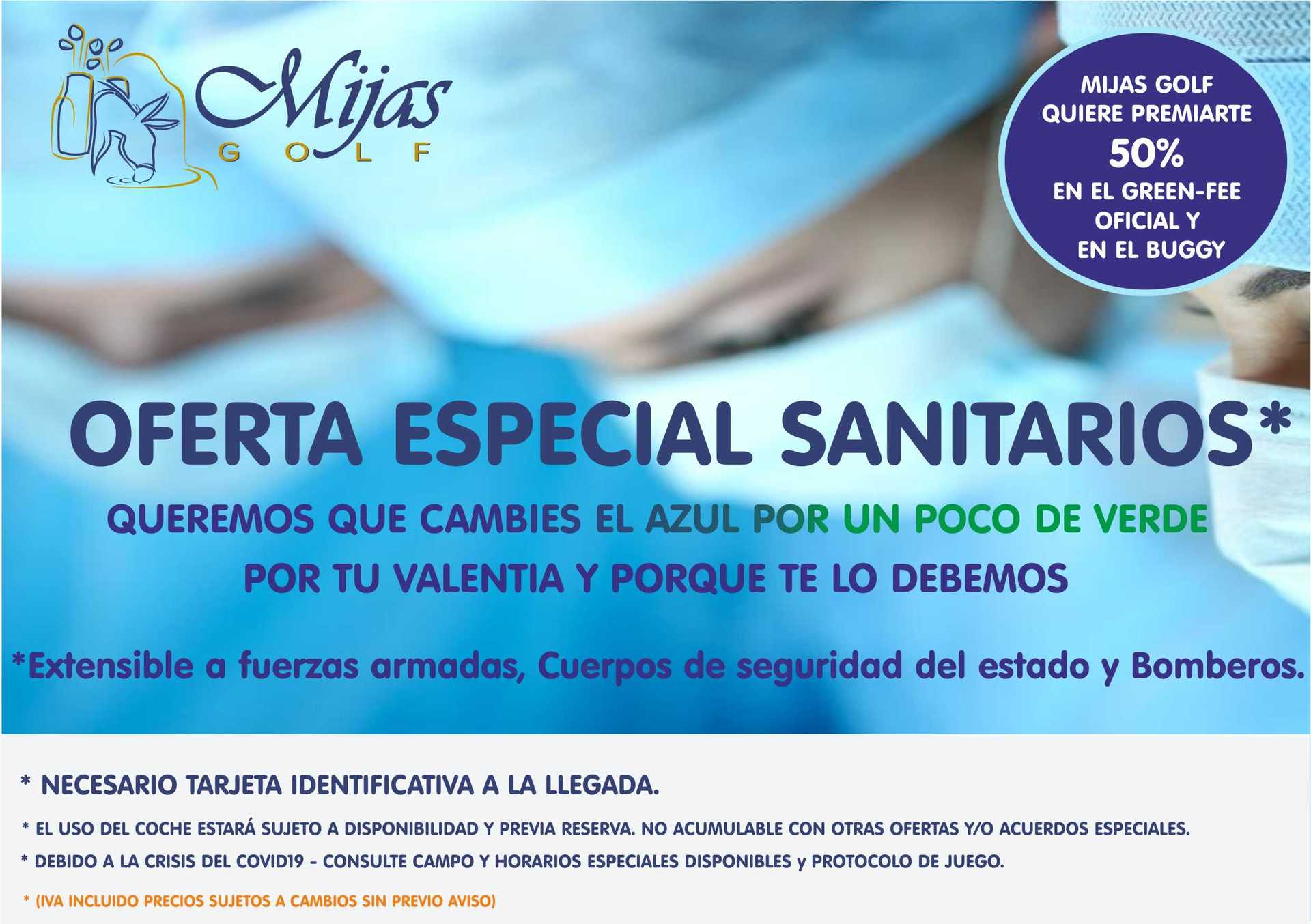 Mijas Golf Club - Oferta 50% a Sanitarios