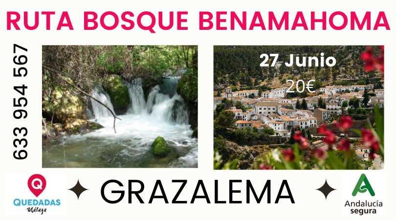 Ruta senderismo El Bosque Benamahoma + Grazalema