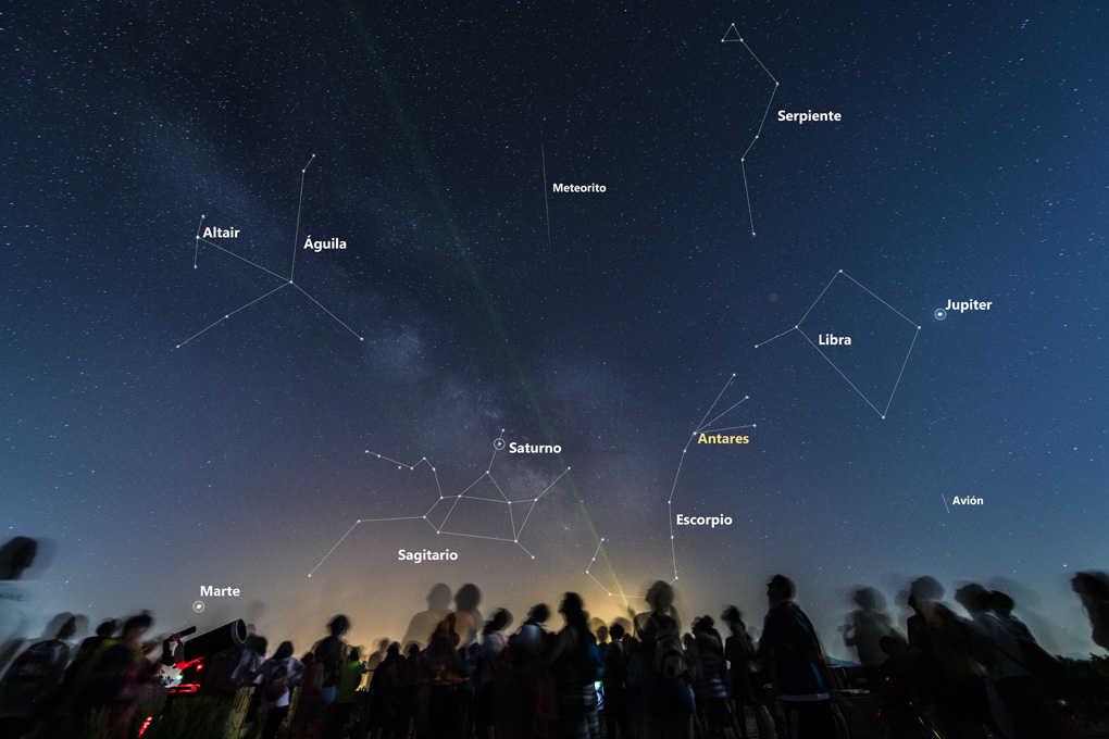 Hamelin: Tour guiado del cielo nocturno - Actividad  (Gorafe)