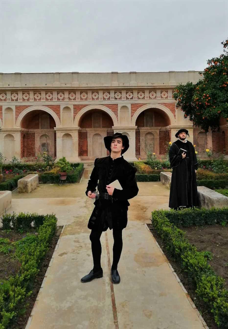 Visita nocturna teatralizada al Palacio de Bornos, (Cádiz)