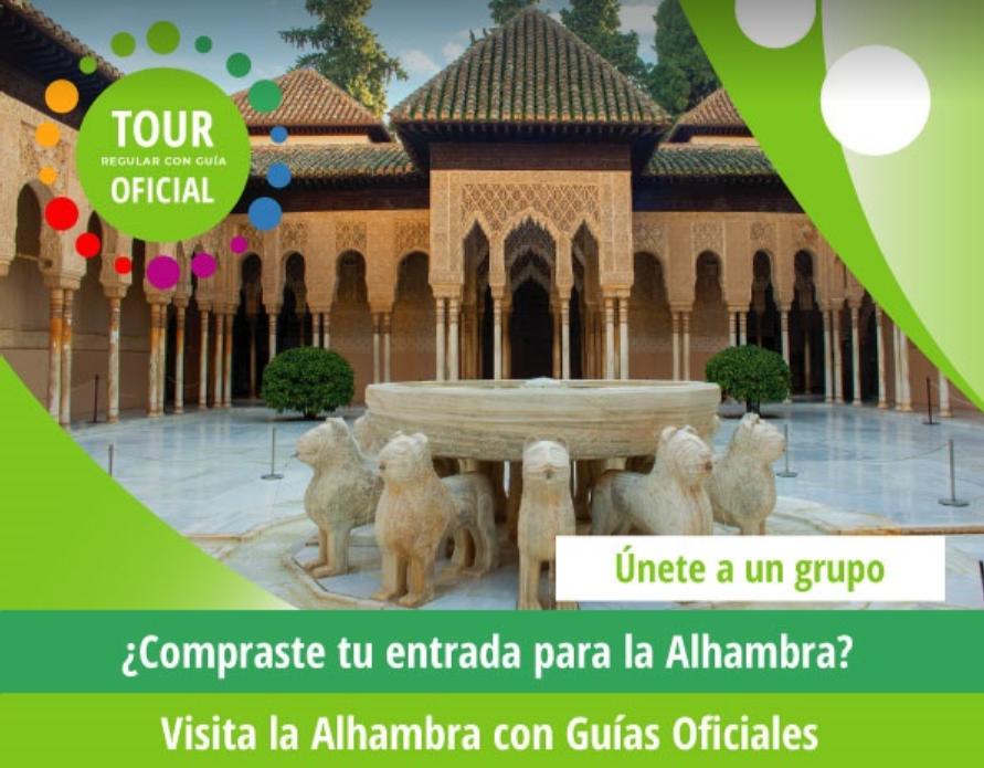 Tour en la Alhambra con Guía Oficial