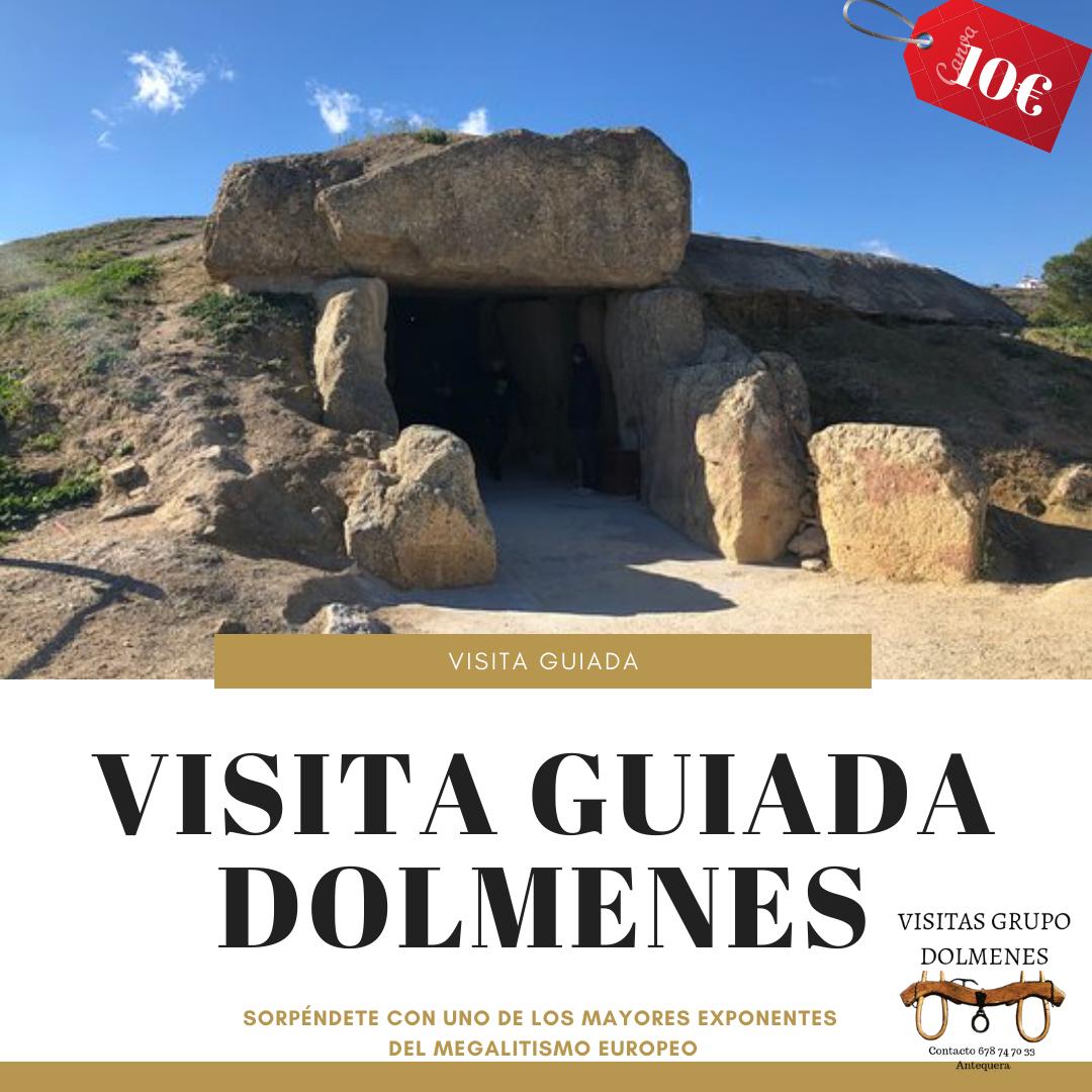 20% Dto. Visita guiada a los dolmenes de Antequera