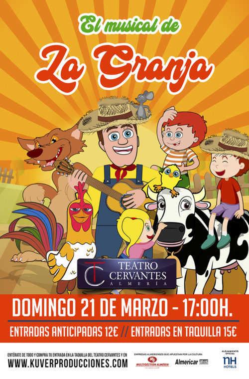 El Musical de La Granja en el Teatro Cervantes