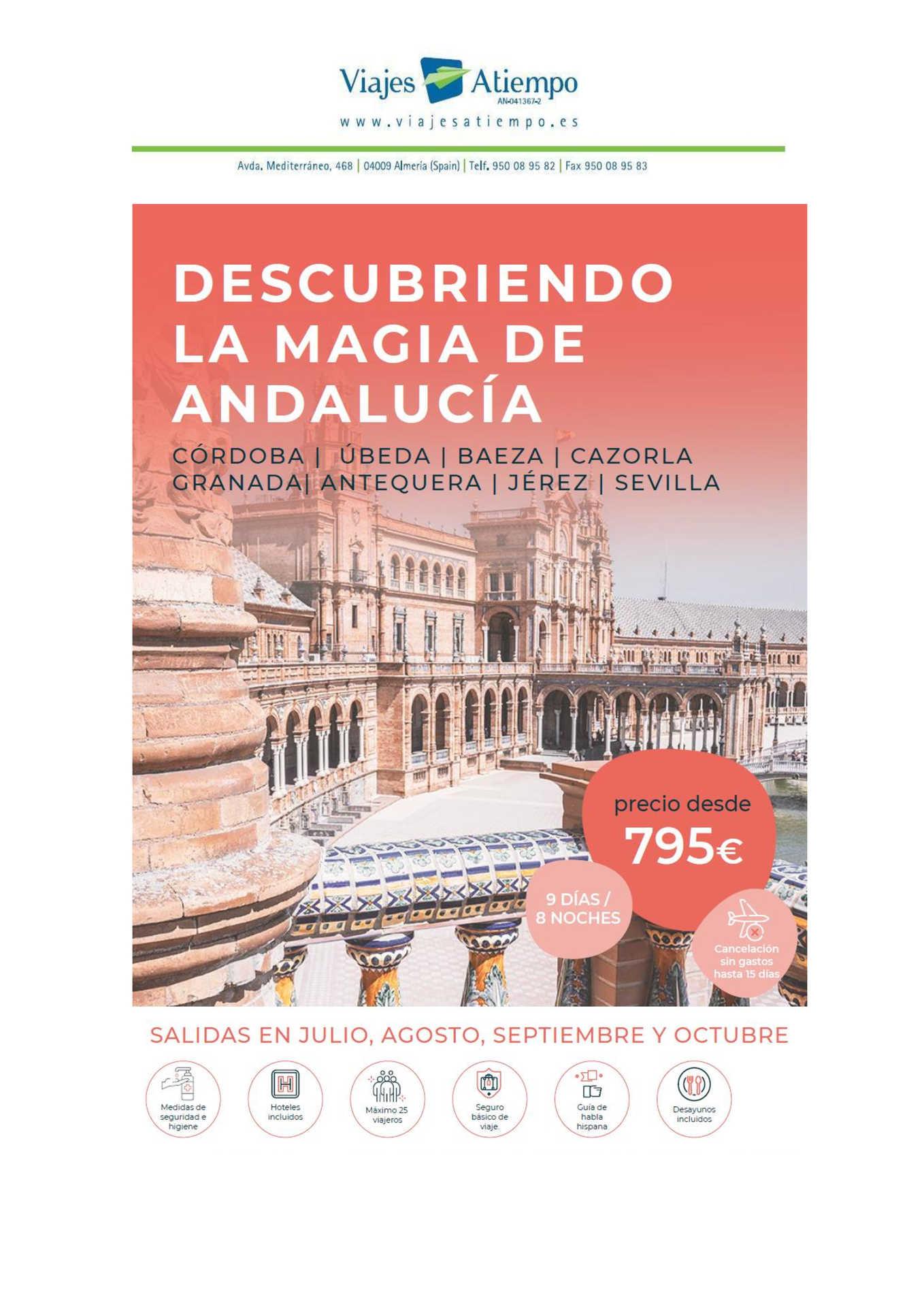 Descubre la Magia de Andalucía