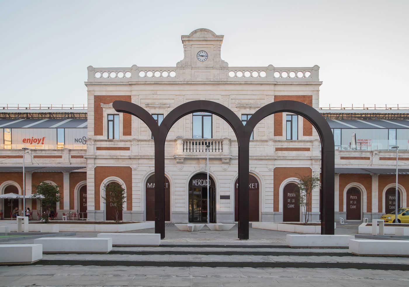Antigua Estación de San Bernardo