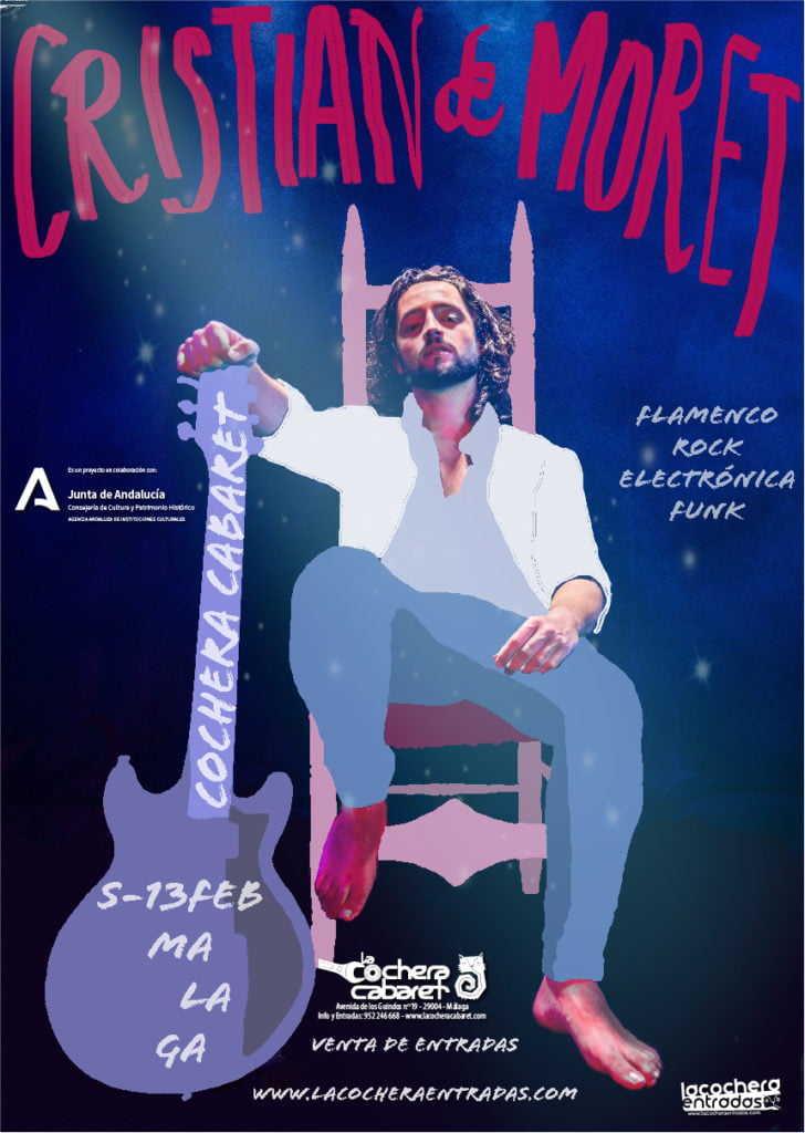 Cristian de Moret en concierto