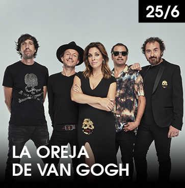 La Oreja de Van Gogh en concierto