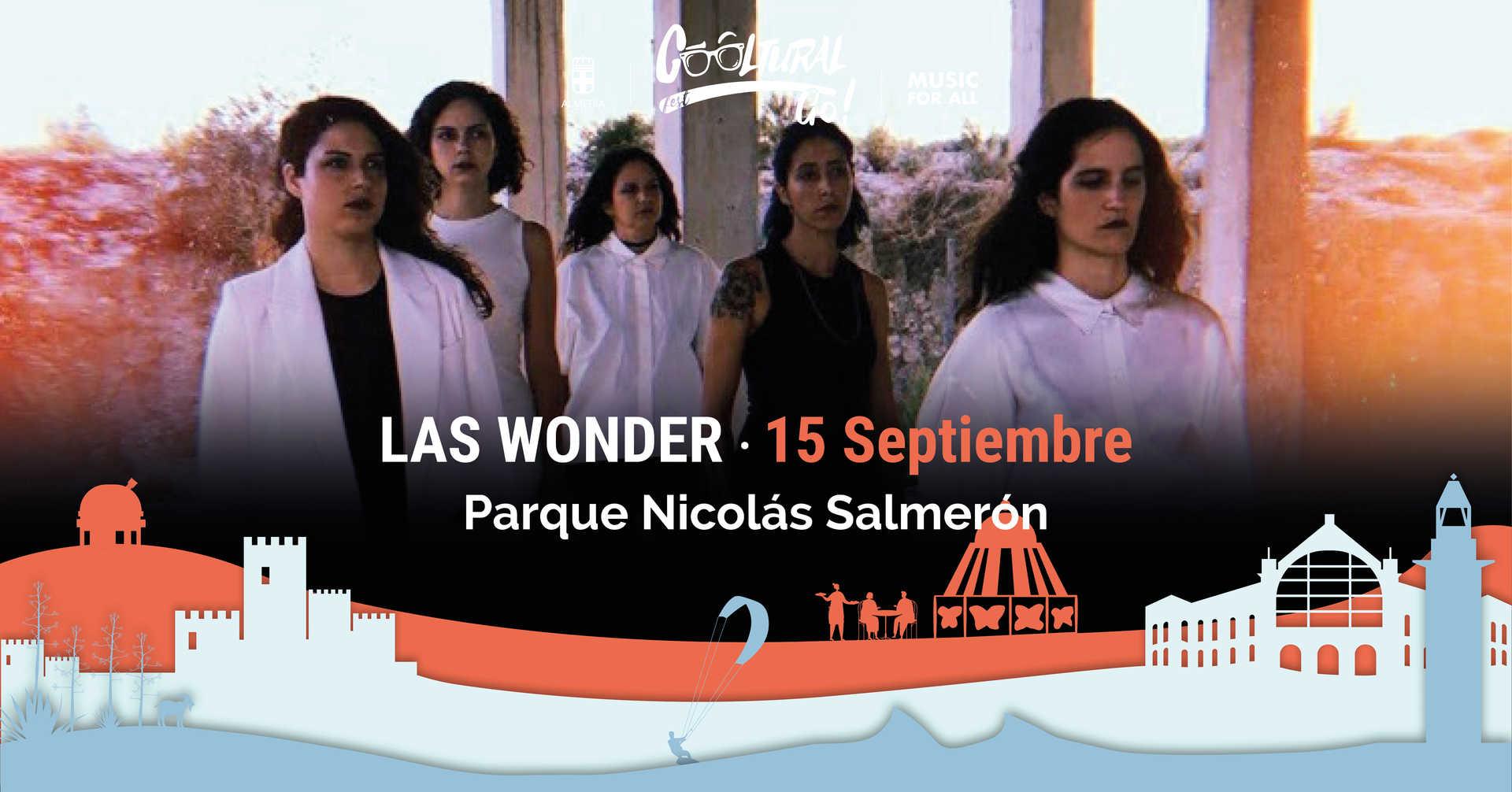 Las Wonder en concierto