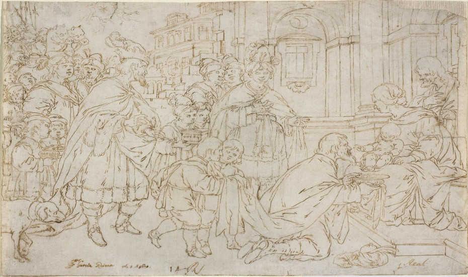 Exposición de dibujos de Antonio García Reinoso en el Museo de Bellas Artes de Córdoba