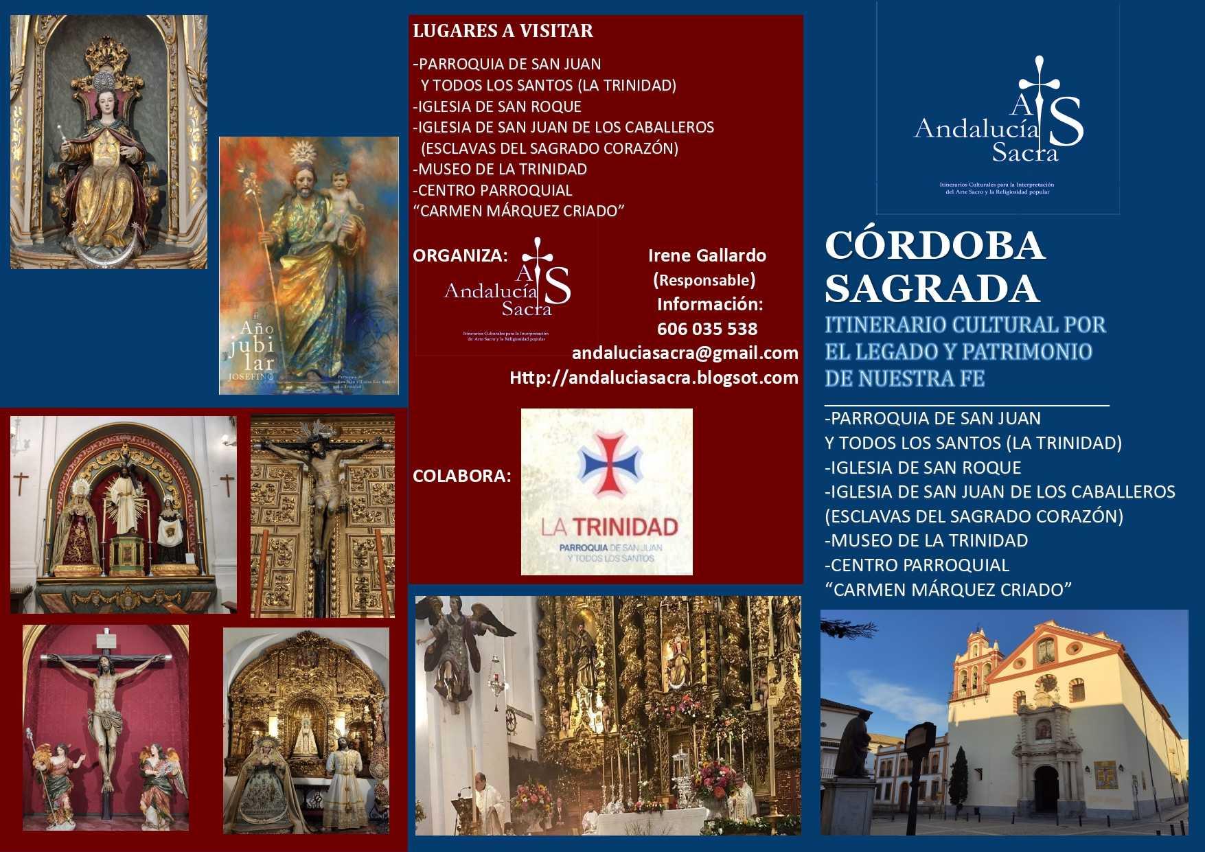 Córdoba Sagrada. Itinerario Cultural por el Legado y Patrimonio de nuestra Fe