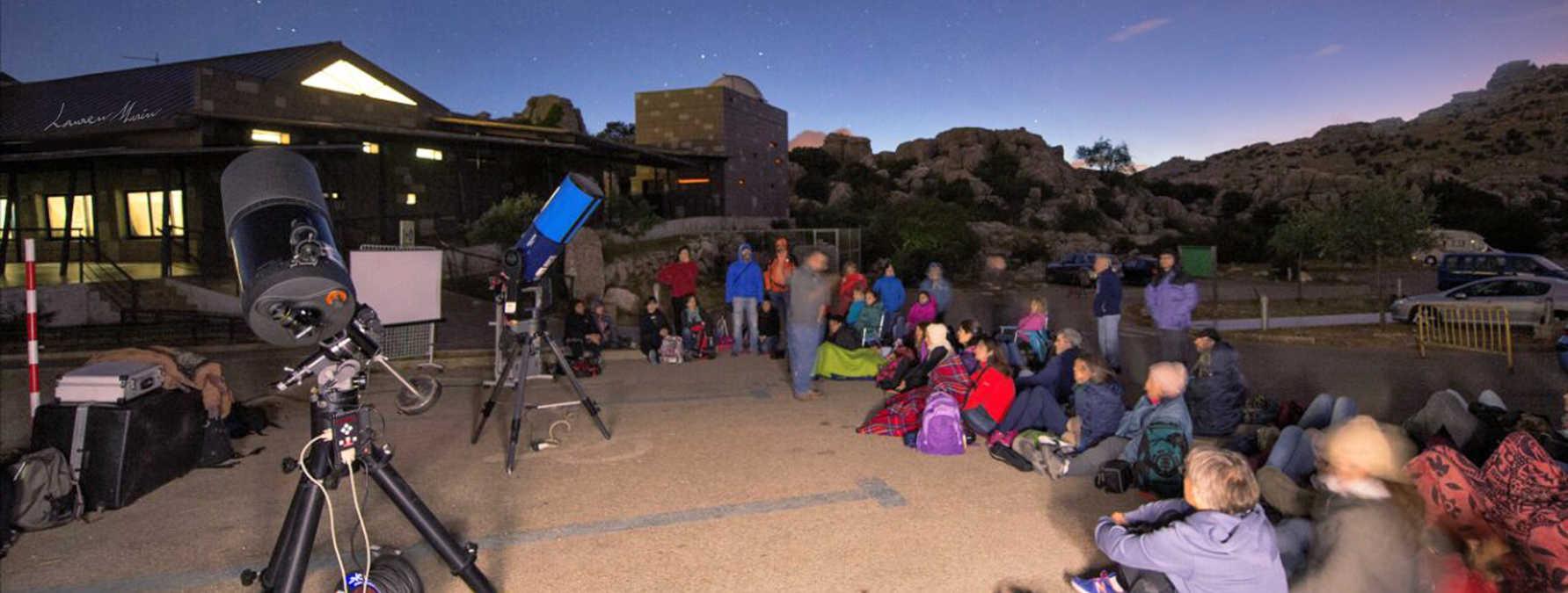 Hamelin: Curso de astronomía práctica al aire libre - Actividad  (Antequera)
