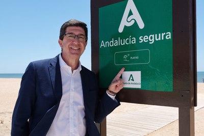 El distintivo 'Andalucía Segura' será un escaparate del destino